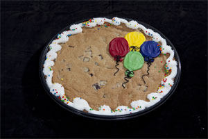 Giant Cookie with Balloons